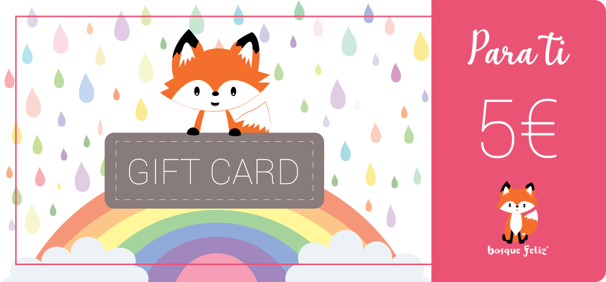 Gift Card 5€ - BOSQUE FELIZ