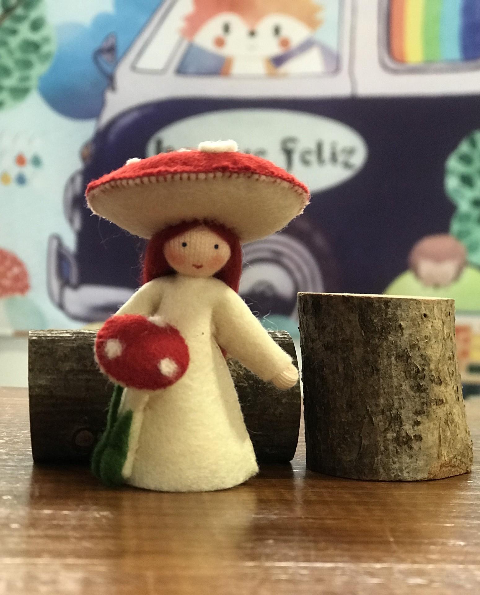 Boneca / Fada Cogumelo - Ambrosius