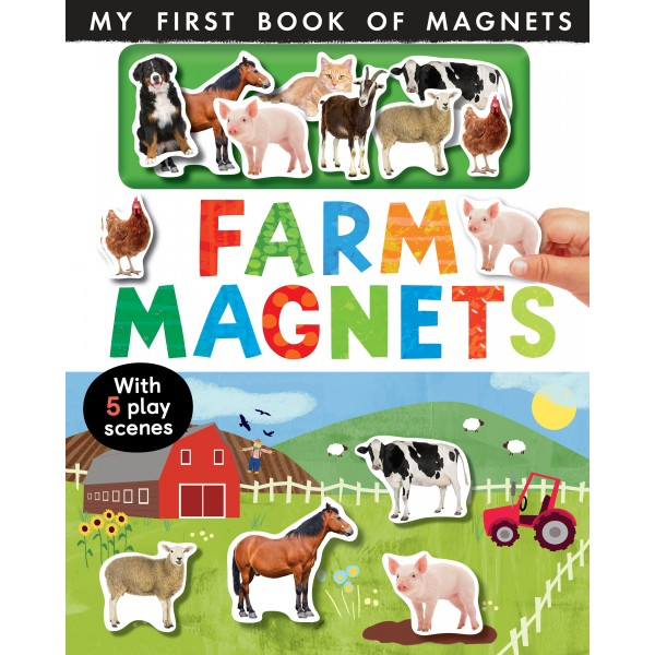 Farm Magnets - My First Book of Magnets