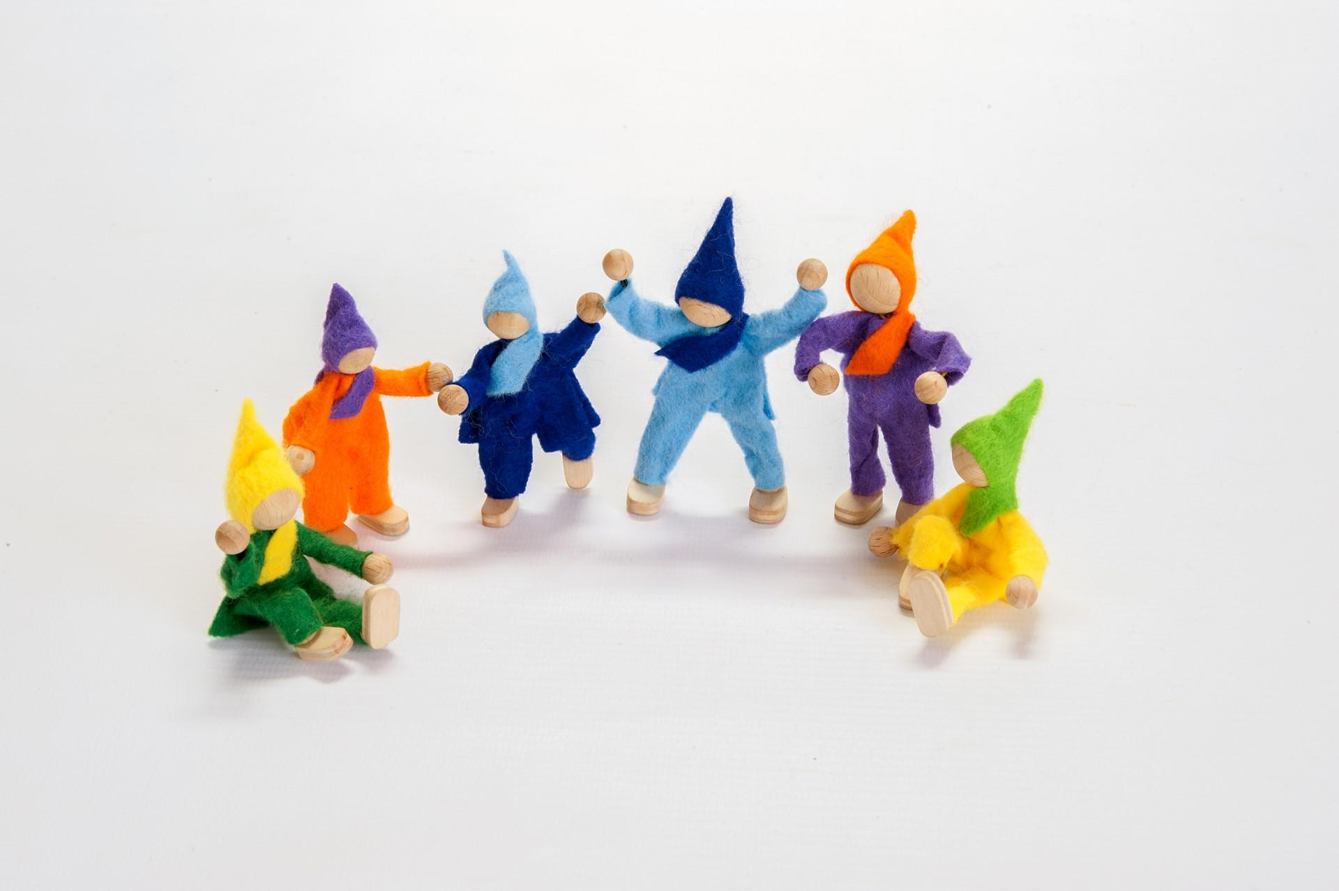 6 Elfos - Magic Wood
