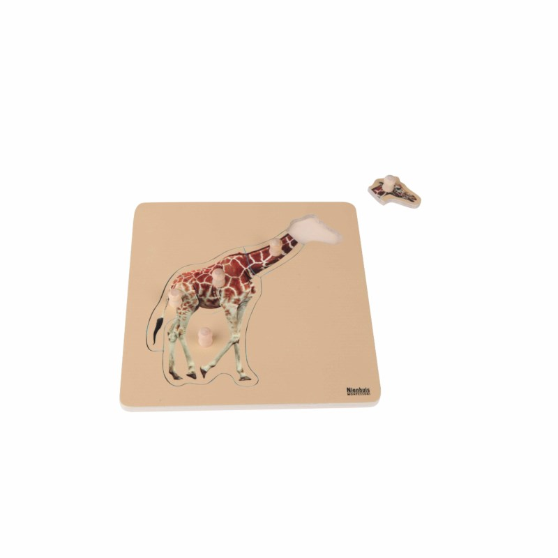 Puzzle Girafa - Nienhuis Montessori