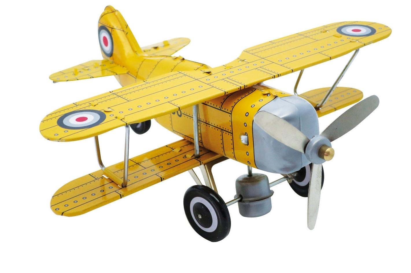 Avião de Ferro Amarelo