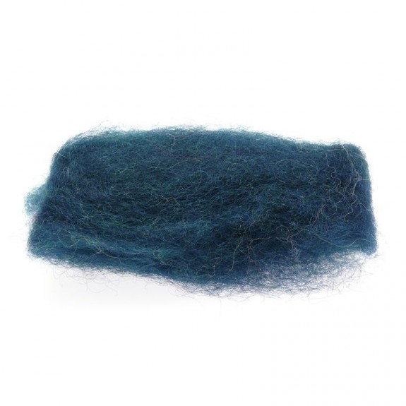 Lã Natural de Feltrar Verde Escuro 25gr - Gluckskafer