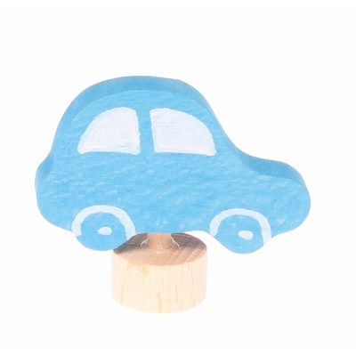 Decorative Figure Blue Car - Grimm's