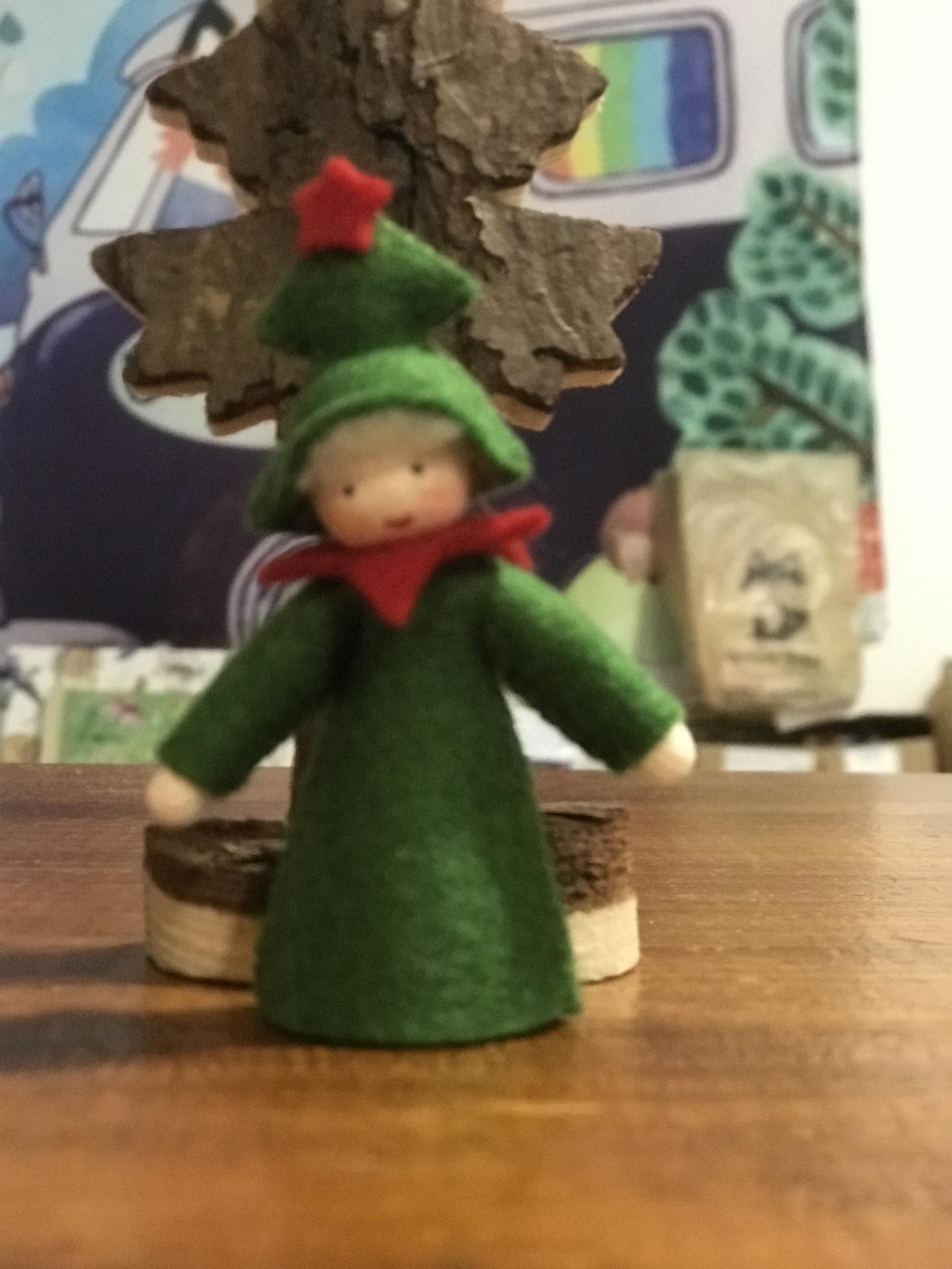 Boneca / Fada Pinheiro de Natal | Ambrosius