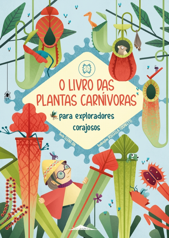 O Livro das Plantas Carnívoras para Exploradores Corajosos - Booksmile