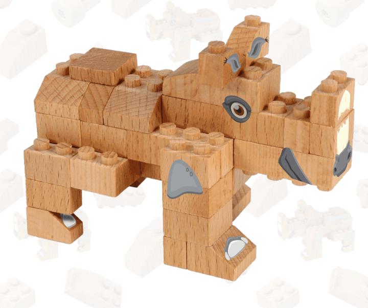 Rinoceronte | FabBrix Bricks