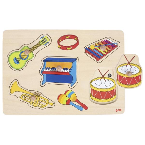 Puzzle com SOM Os Instrumentos - Goki