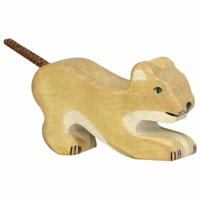Leão Bebé a Brincar - Holztiger