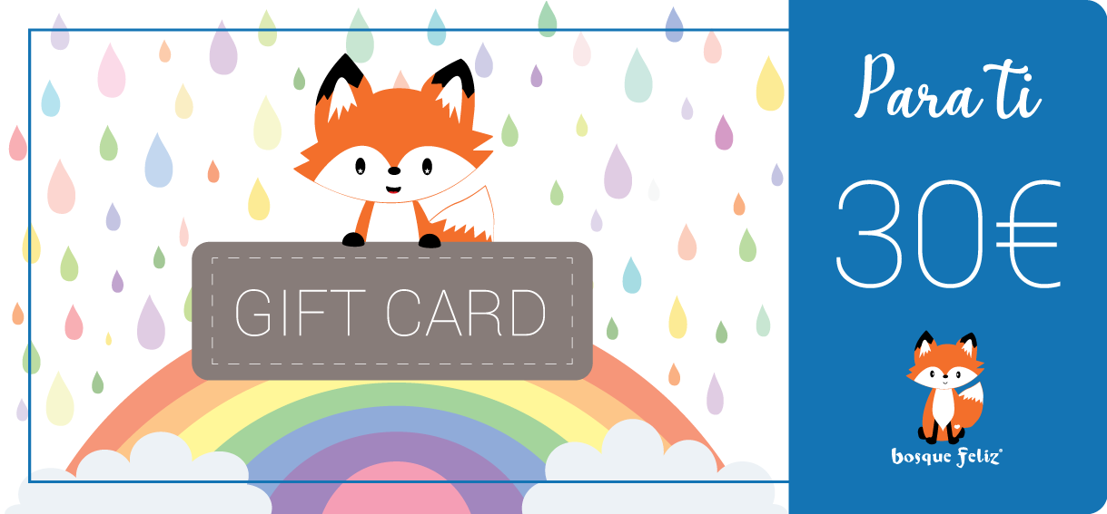 Gift Card 30€ - BOSQUE FELIZ