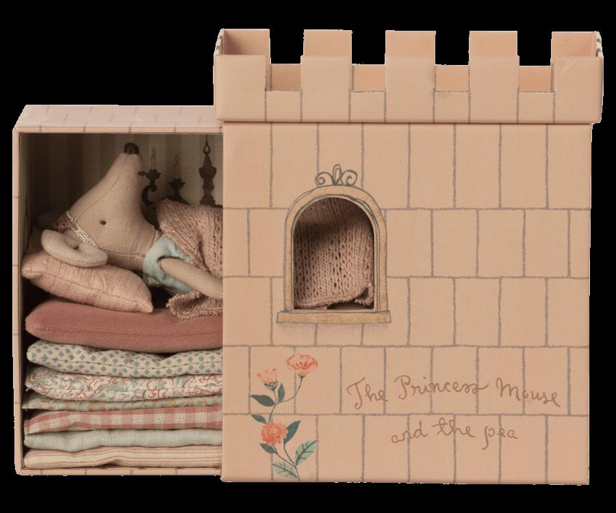 Ratinha Princesa e a Ervilha - Maileg