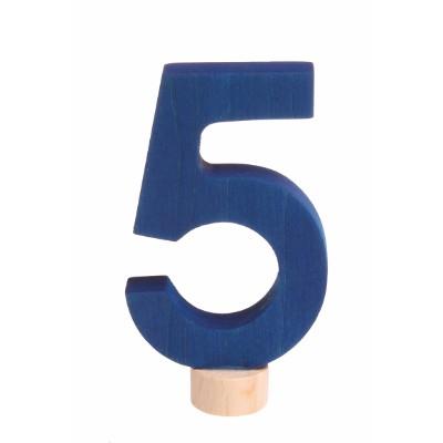 Número 5 Figura Decorativa - Grimm's