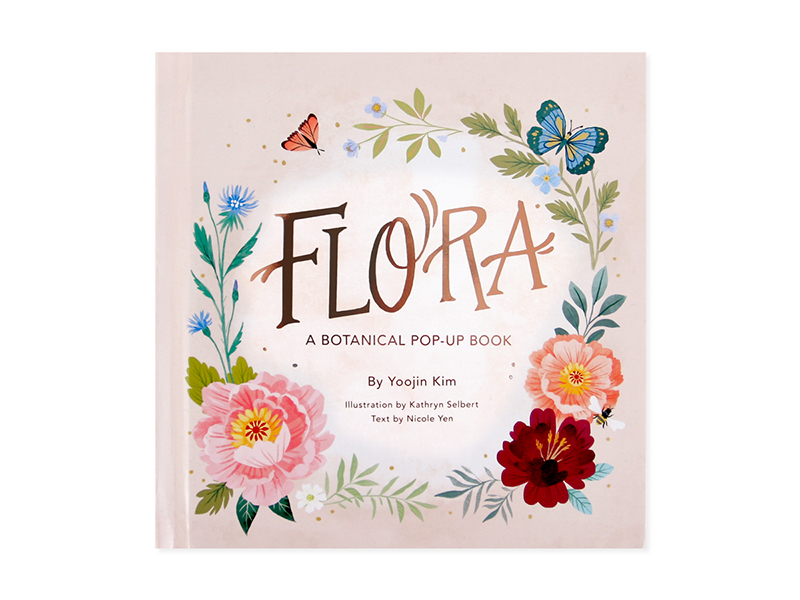 Flora | a Botanical Pop-Up Book