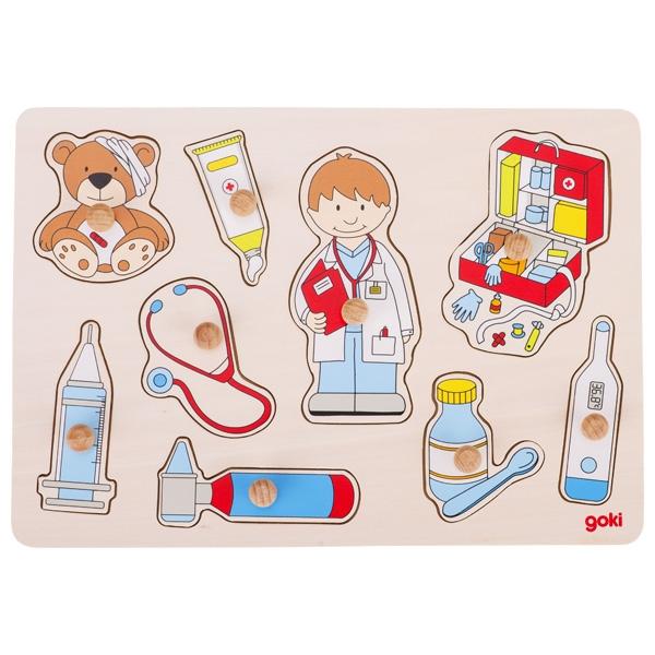 Puzzle de Encaixar Doutores - Goki
