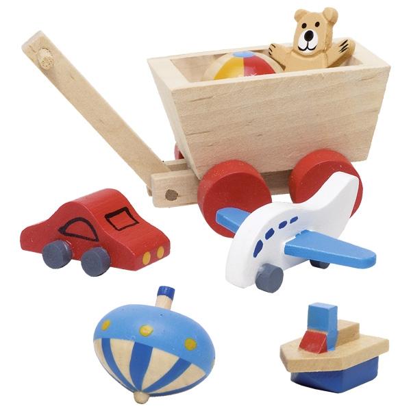Brinquedos Miniaturas de Acessórios