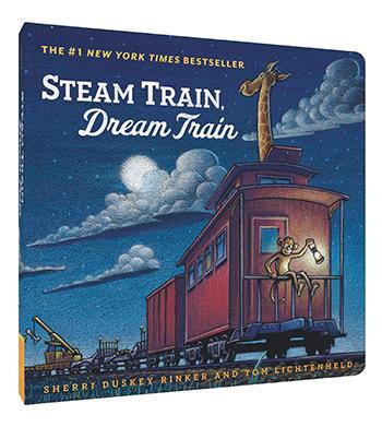 Steam Train Dream Train | Board Book