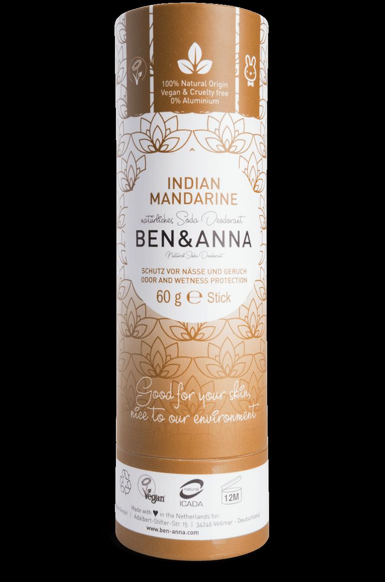 Tangerina da Índia Desodorizante Natural - Ben & Anna