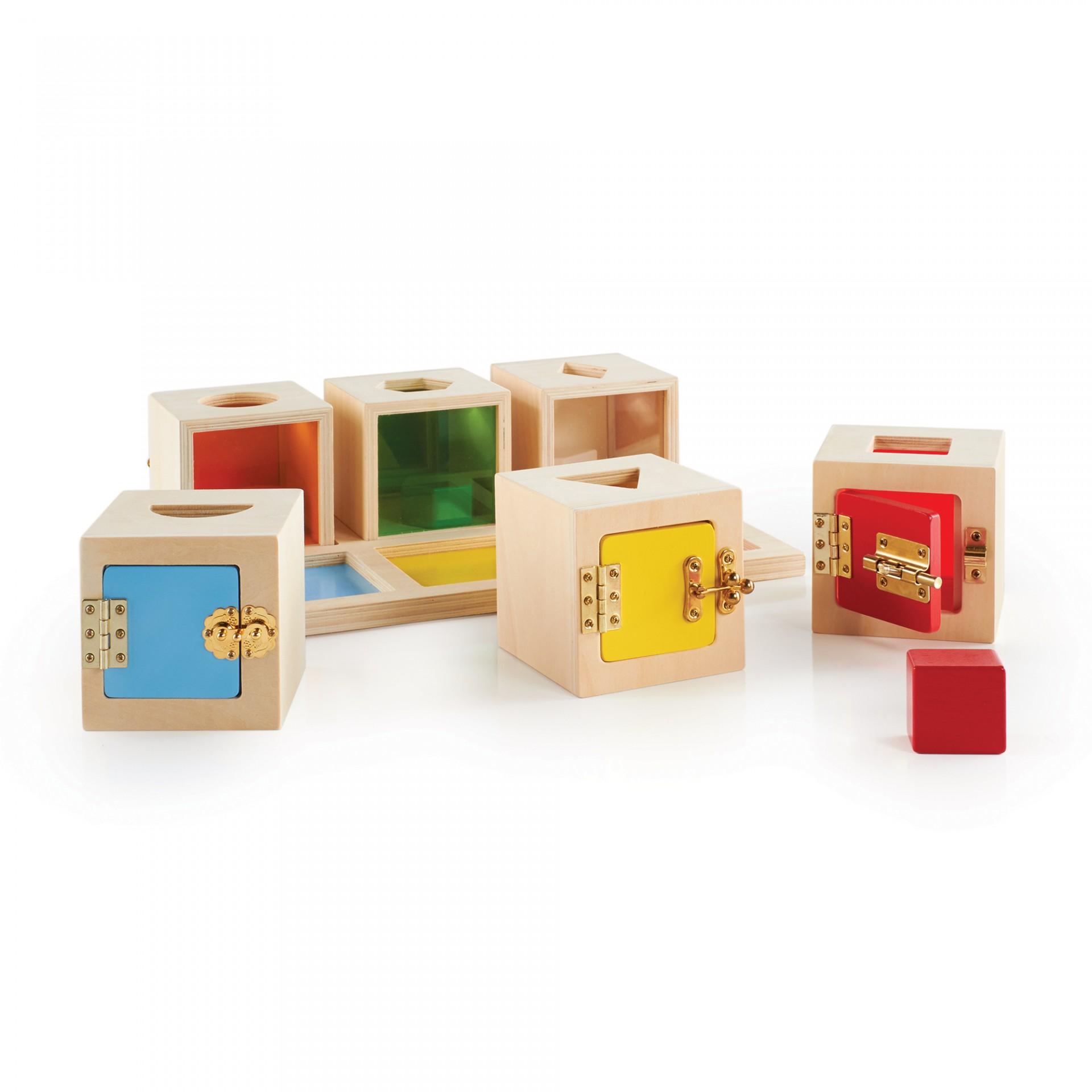 Caixa de Fechaduras e Formas | Guidecraft