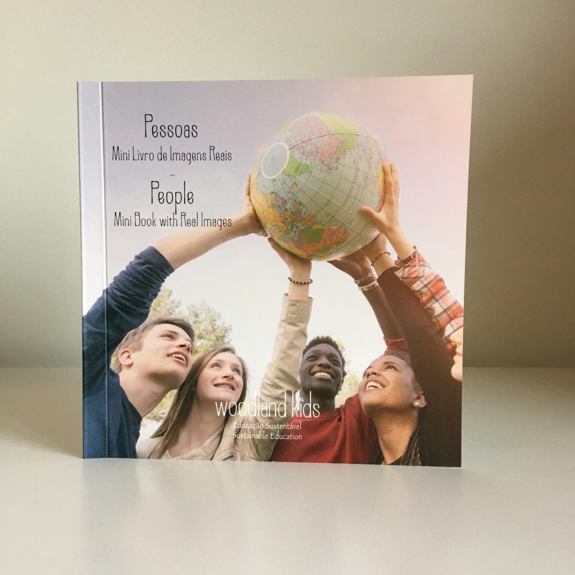 Pessoas Mini Livro de Imagens Reais - Woodland Kids