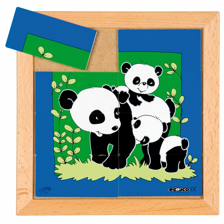 Puzzle de Peças Panda Bebé