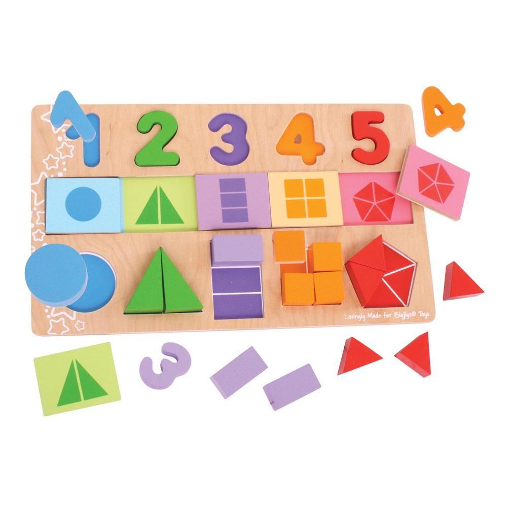 O Meu 1º Puzzle de Frações