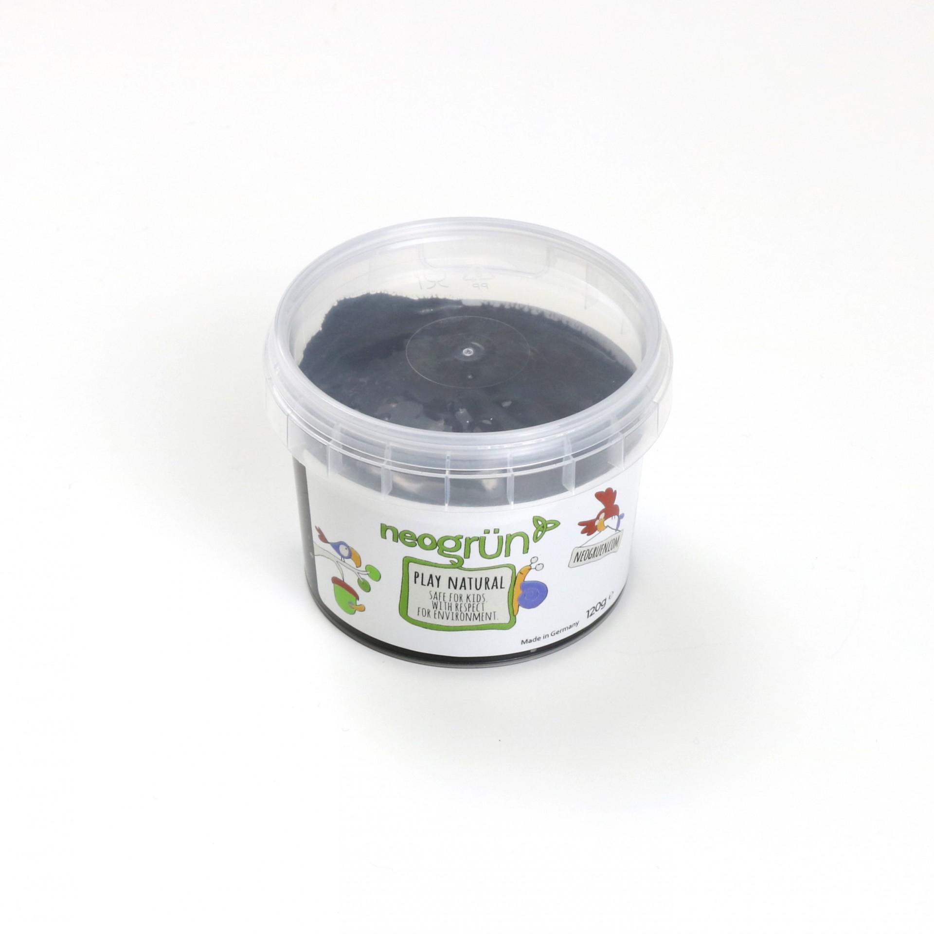 PRETO Tinta de Dedo Natural e Vegan - Neogrun