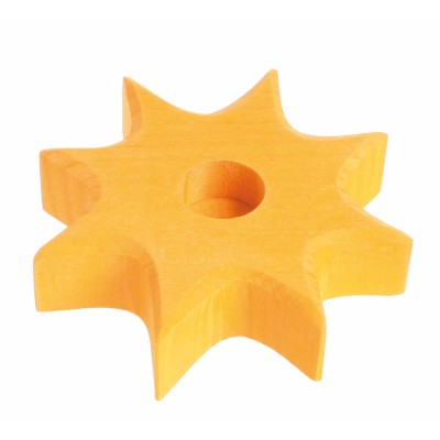 Estrela Amarela Suporte de Vela | Grimm's