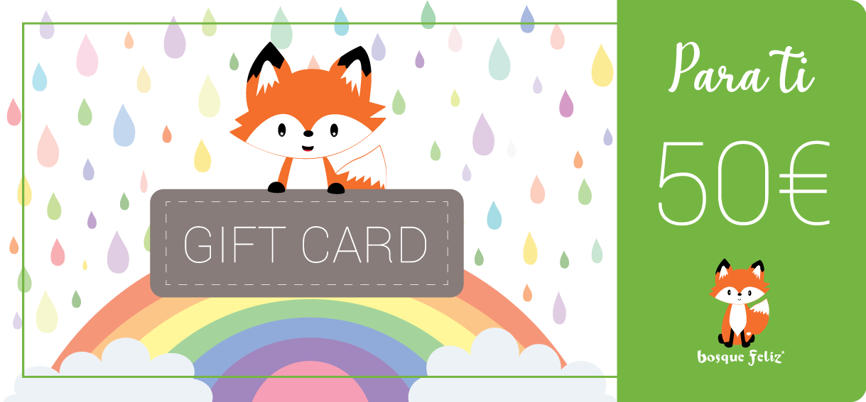 Gift Card 50€ - BOSQUE FELIZ