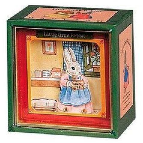 Mini Caixa Musical - Coelha | Pedrito o Coelho