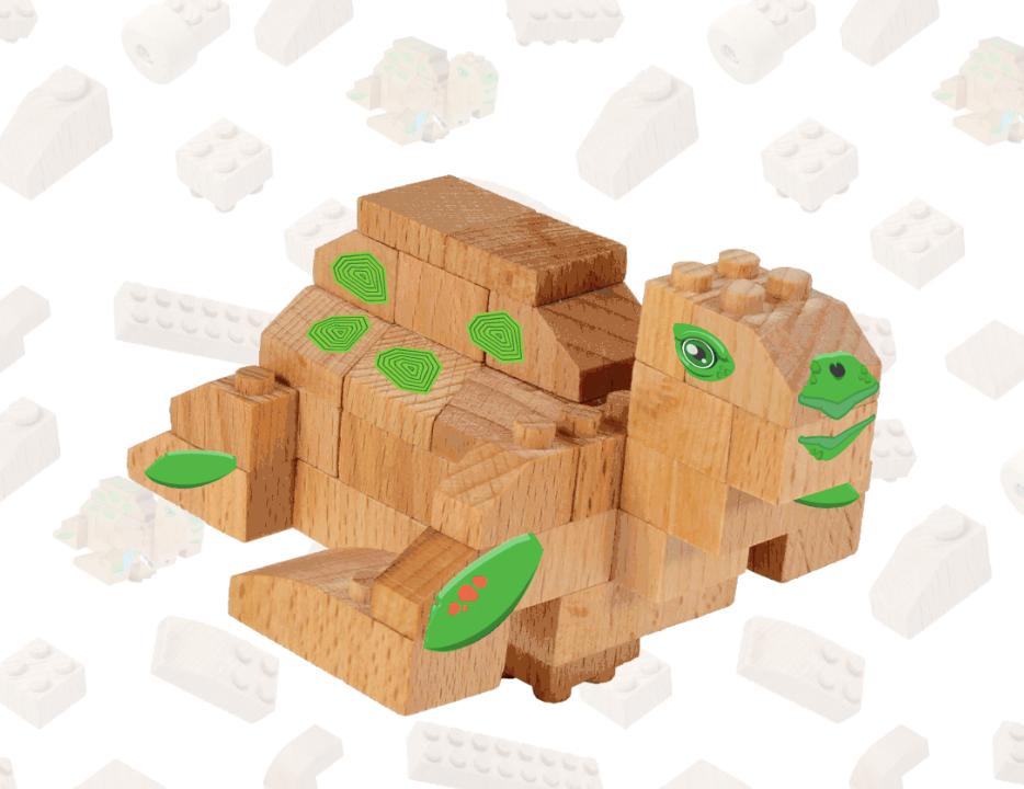 Tartaruga Marinha | FabBrix Bricks