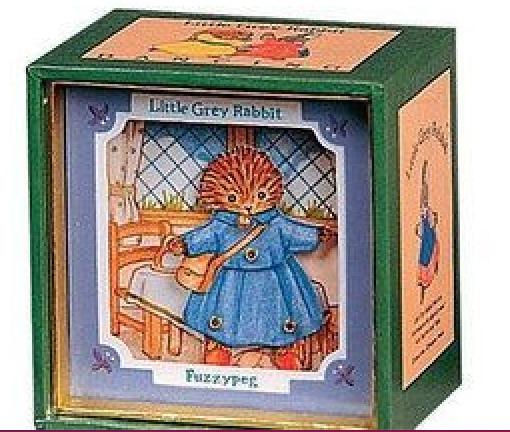Mini Caixa Musical - Ouriço | Pedrito o Coelho