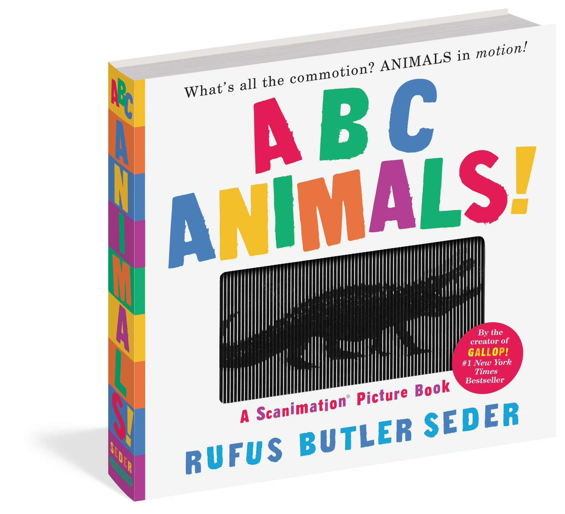 ABC Animals! : A Scanimation Picture Book