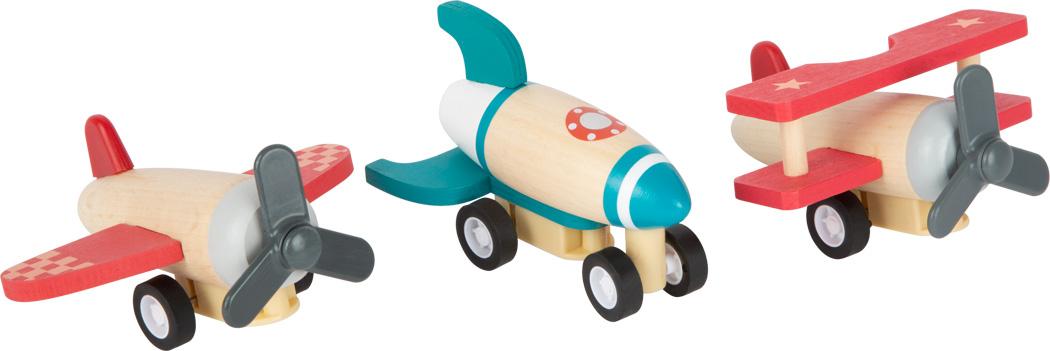 Conjunto de Aviões e Foguete Pull-Back | Smallfoot