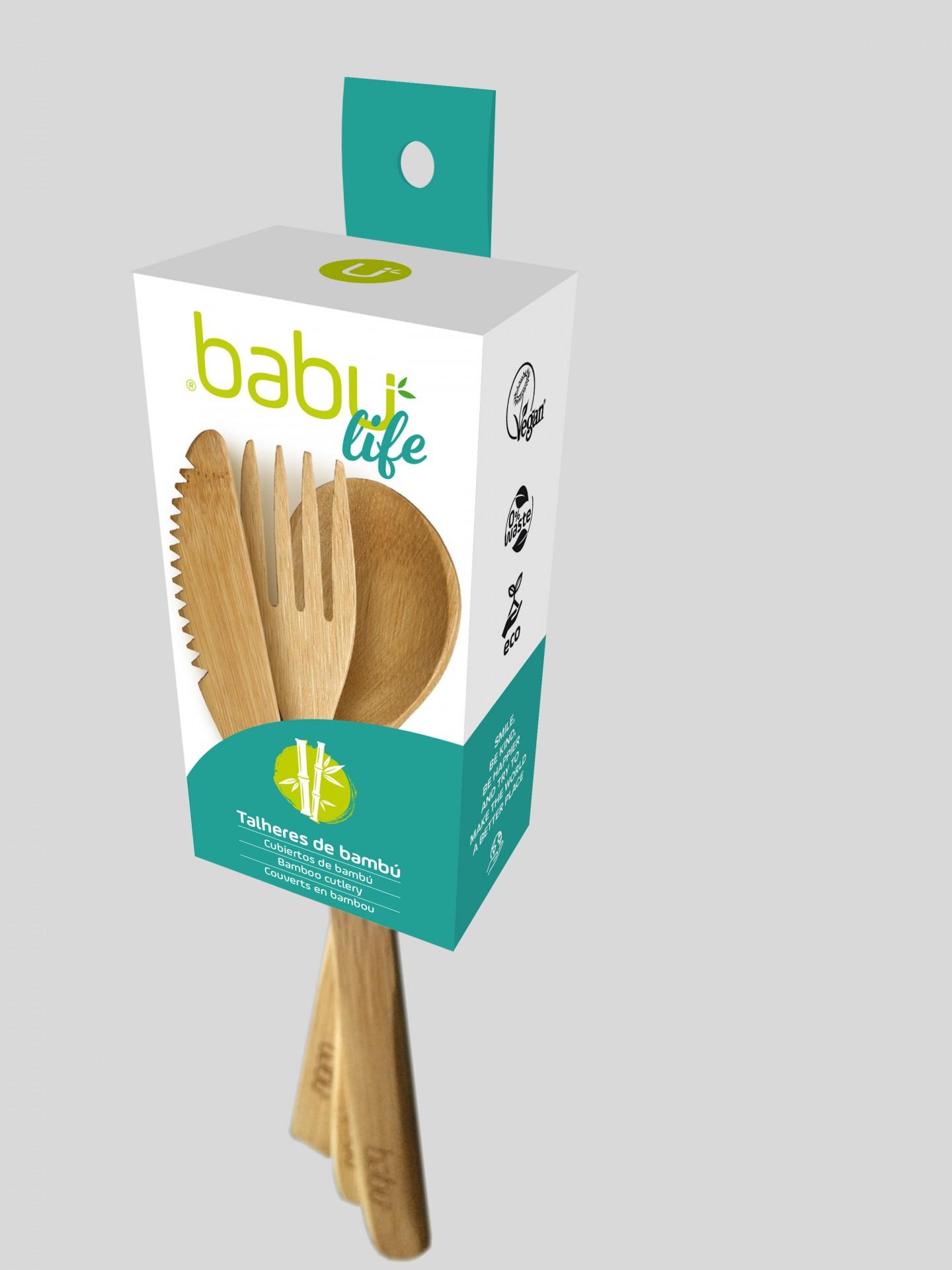 Kit 3 Talheres de Cozinha - Babu