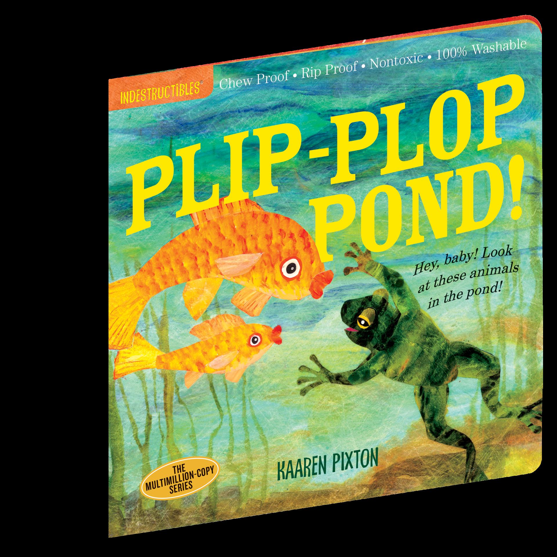 Plip-Plop Pond! | Indestructibles
