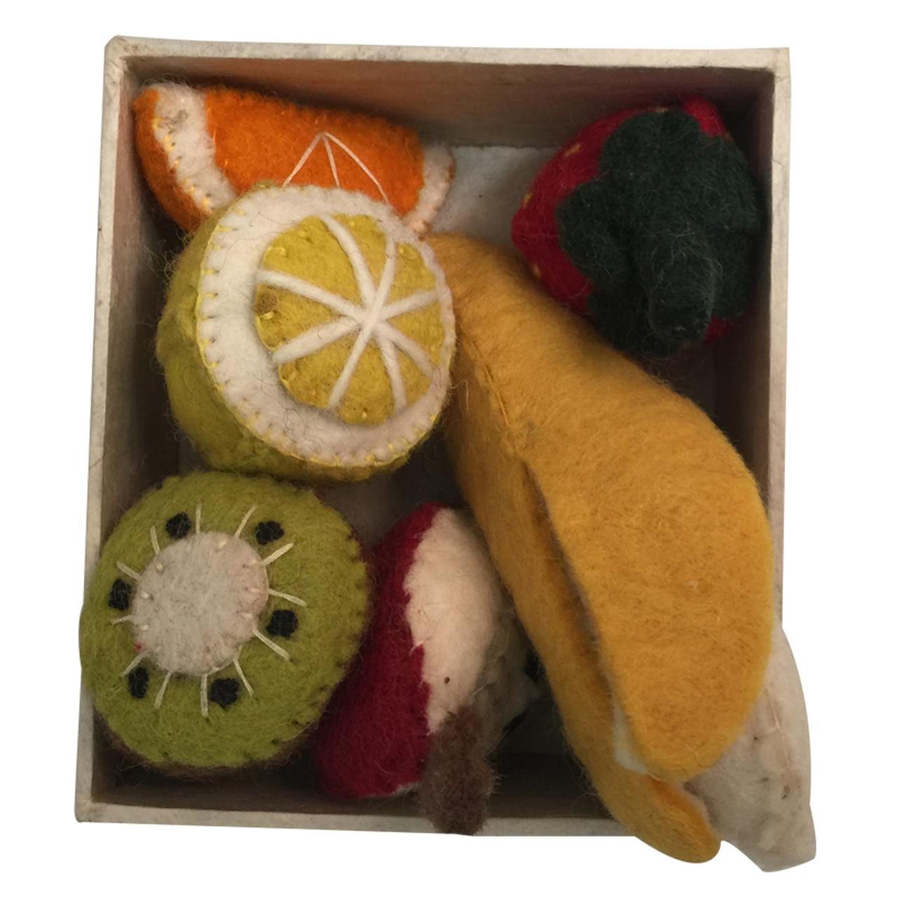 Conjunto de 5 Peças de Frutas   Papoose