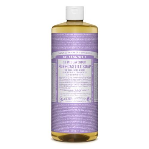 Alfazema Sabonete Líquido Biológico - Dr. Bronner's