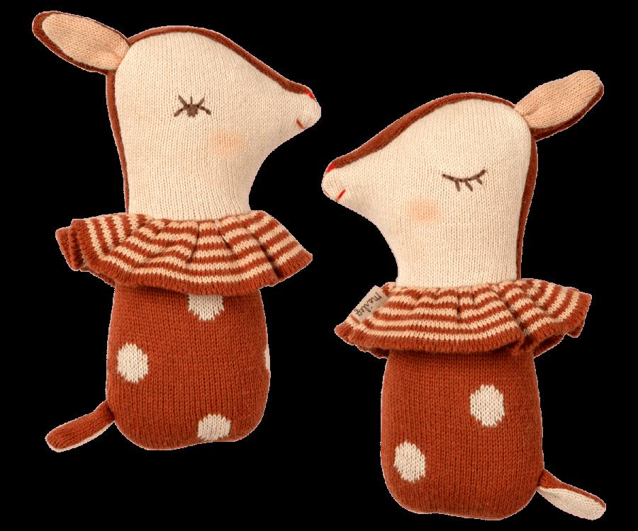 Chocalho Bambi Castanho | Maileg
