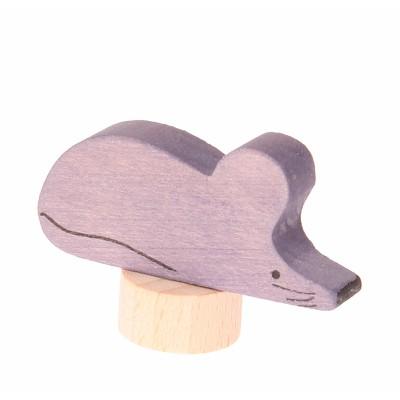 Ratinho Figura Decorativa - Grimm's