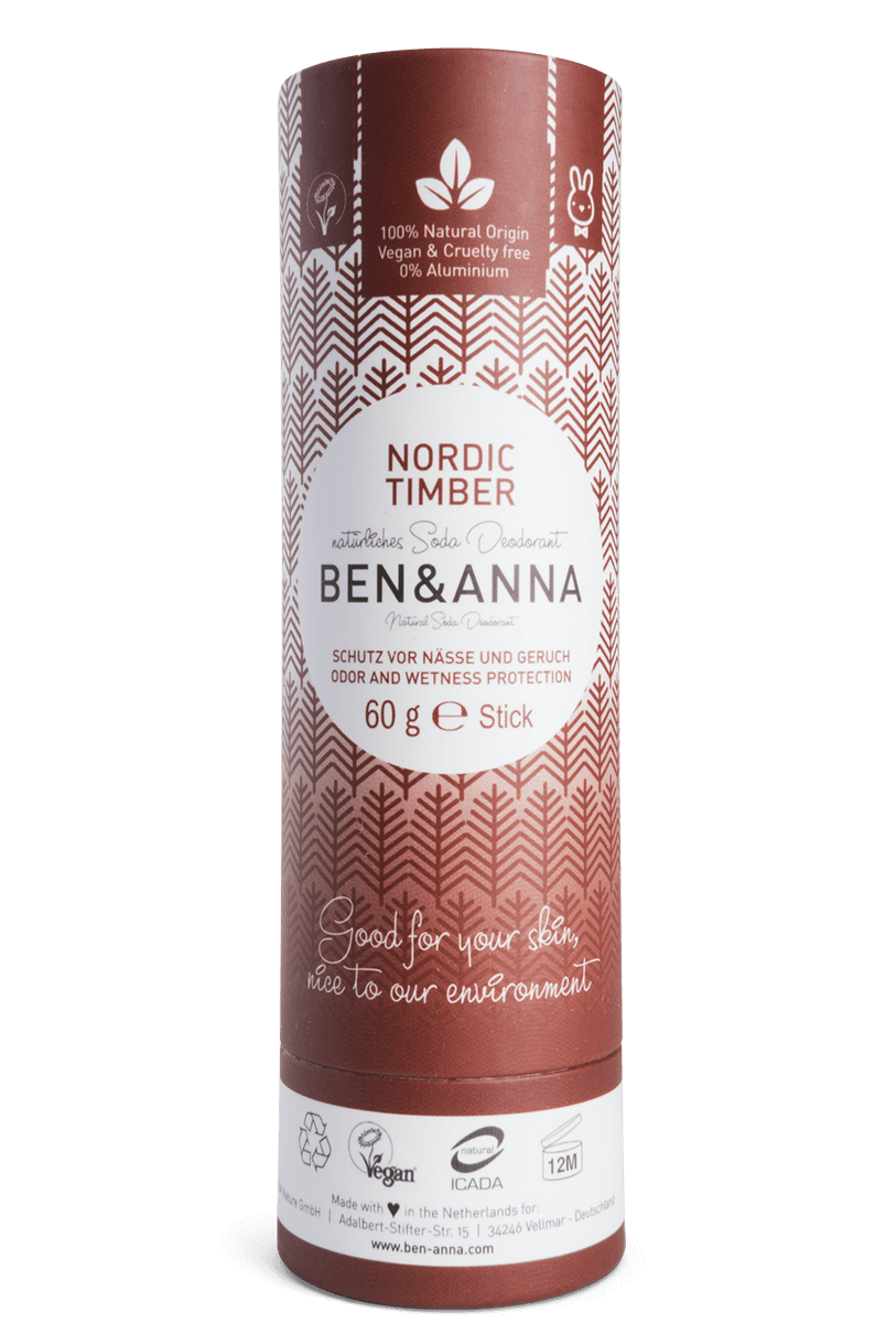 Madeira Nórdica Desodorizante Natural - Ben & Anna