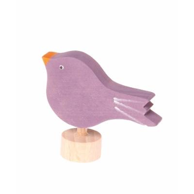 Pássaro Sentado Figura Decorativa - Grimm's