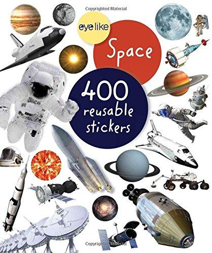 Espaço - Livro de Autocolantes Reutilizáveis