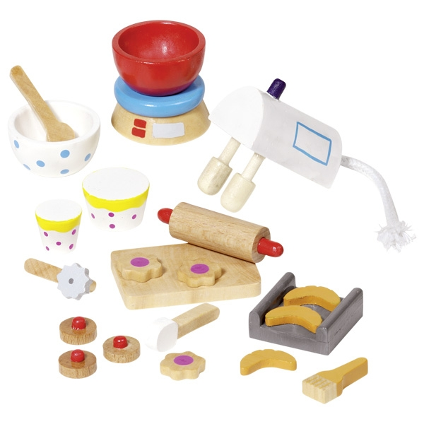 Pastelaria Miniaturas de Acessórios