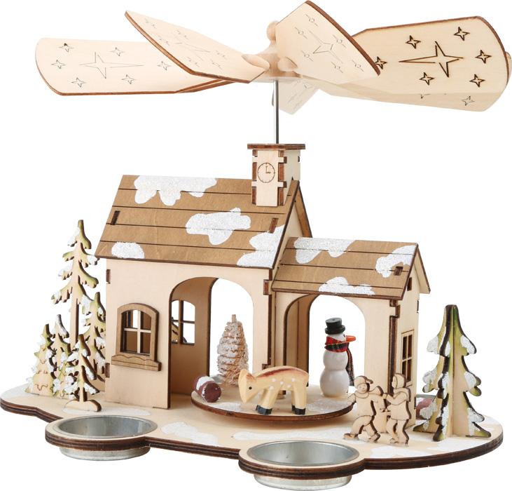 Casa com Ventoinha   Decoração de Natal
