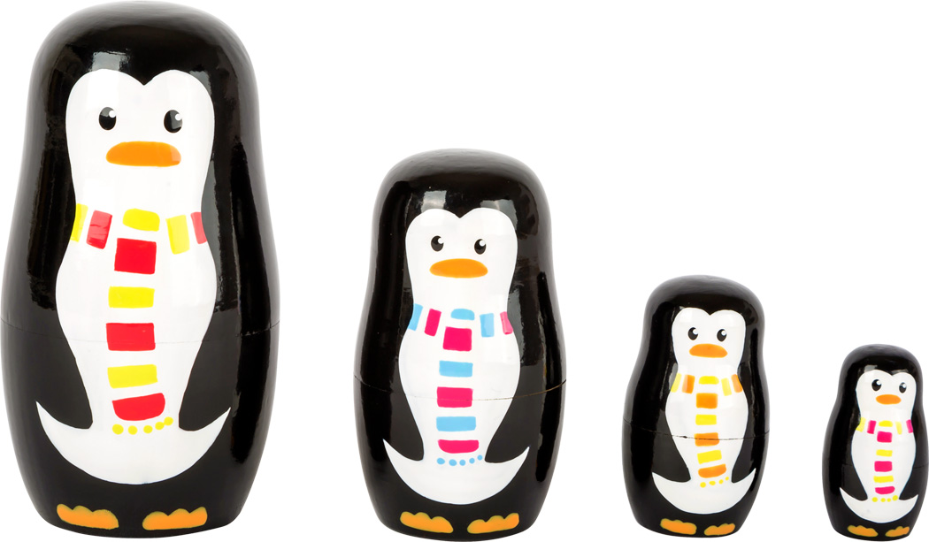 Família Pinguim Matryoshka | Smallfoot