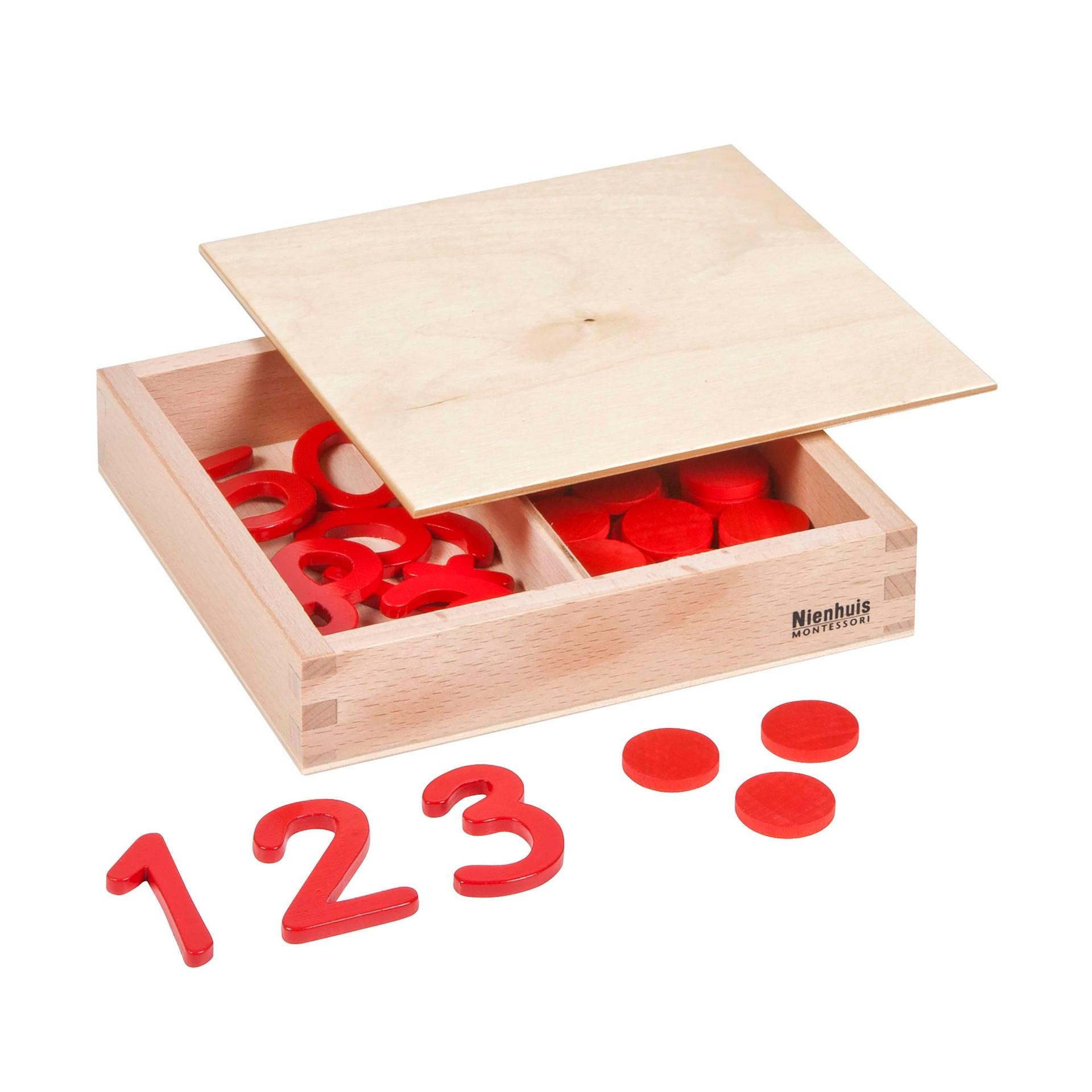 Números e Contadores - Nienhuis Montessori