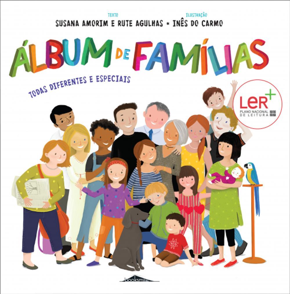 Álbum de Famílias Todas diferentes e especiais