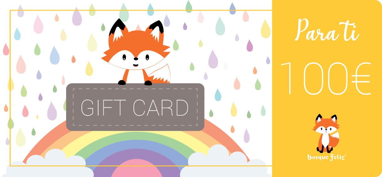 Gift Card 100€ - BOSQUE FELIZ
