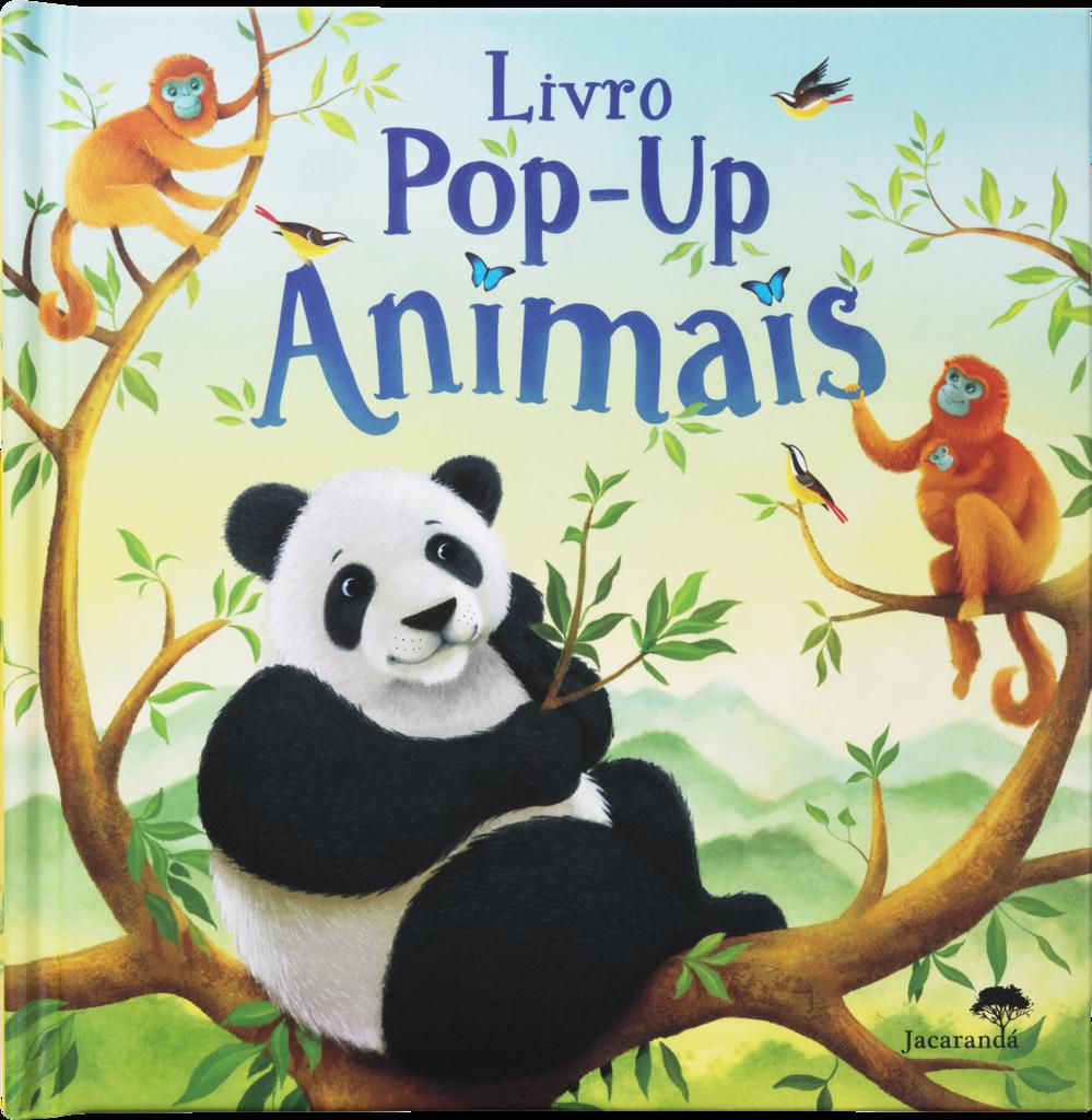 Livro Pop-up Animais