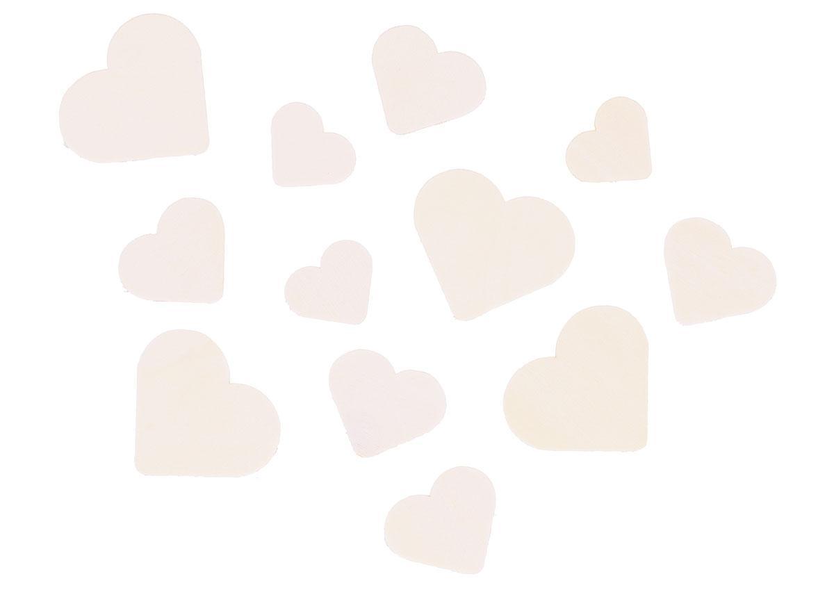 Corações de Madeira Natural | Tamanhos Vários